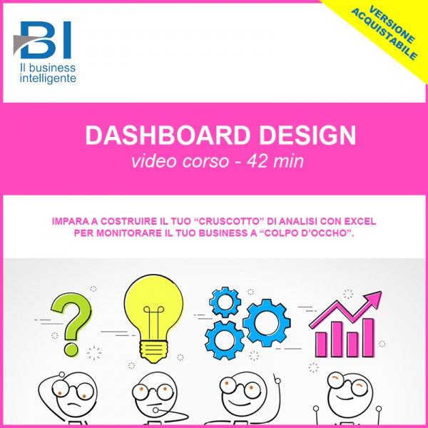 VIDEO CORSO DASHBOARD DESIGN